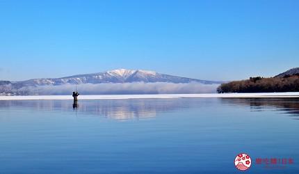 北海道道東三湖必玩雪上活動推薦推介屈斜路湖冰獨木舟