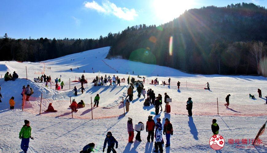 北海道道東三湖必玩雪上活動推薦推介滑粉雪的國設阿寒湖畔滑雪場