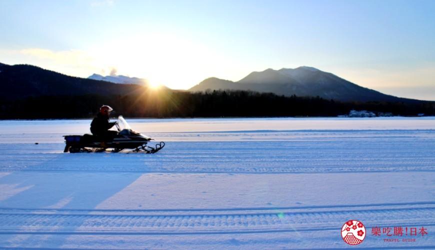 北海道道東三湖必玩雪上活動推薦推介雪上摩托車電單車