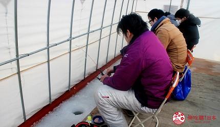北海道道東三湖必玩雪上活動推薦推介冰上垂釣