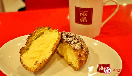 北海道道東三湖必玩雪上活動推薦推介必食Pan de Pan的櫻桃酒卡士達醬口味的雄阿寒泡芙