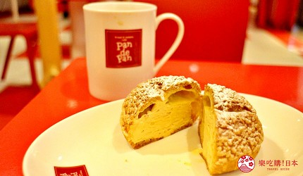 北海道道東三湖必玩雪上活動推薦推介必食Pan de Pan的焦糖卡士達醬口味的雌阿寒泡芙