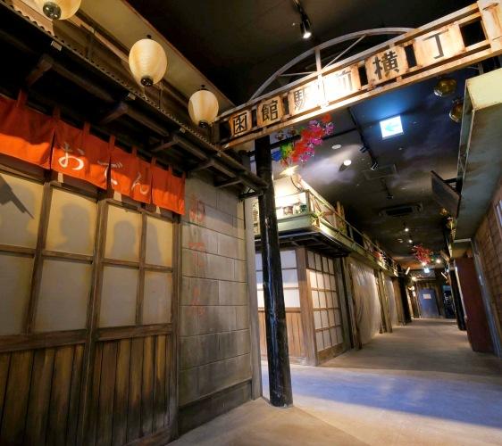 北海道函馆青森弘前行程推荐推介滑雪温泉雪樱点灯日本北国风情体验复合式商业设施HAKOVIVA的内装潢