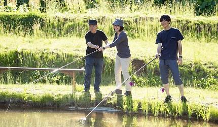 北海道札幌定山溪溫泉採水果釣魚體驗