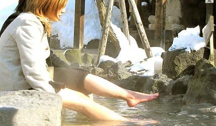 北海道札幌定山溪溫泉景點定山溪源泉公園