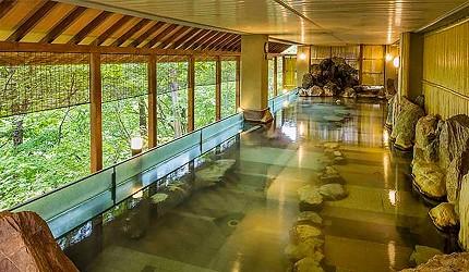 北海道札幌定山溪溫泉旅館推薦定山溪豪景酒店