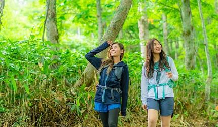 北海道最大的四季度假胜地「留寿都度假区」的夏天爬山行山游山