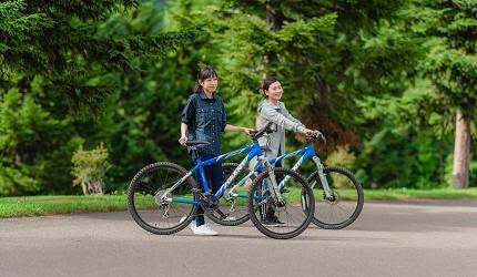 北海道最大的四季度假胜地「留寿都度假区」的夏天踏单车