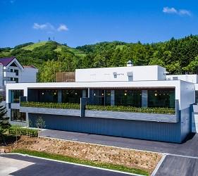 北海道最大的四季度假胜地「留寿都度假区」的温泉大浴场「寿之汤」外观