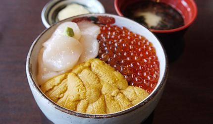 函館必吃炭火燒烤名店「きくよ食堂 Bay Area店」的元祖函館巴丼