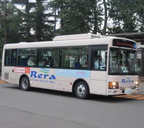 新千岁机场旁,北海道必逛最大购物城「Chitose Outlet Mall Rera」的免费机场接送巴士