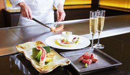北海道頂級食材美味雙重饗宴推薦「鐵板燒YAMANAMI」主廚專業